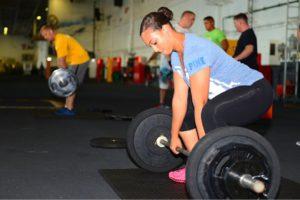 Poids, Levage, Puissance, Femmes, Salle De Gym